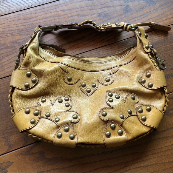 01e567eb3f Isabella Fiore Oasis Studded Leather Bag. Isabella Fiore.  M_5b62616742aa760050d7f4c3. M_5b62616ae9ec890a05d6c6ba.  M_5b62616c129955d392bdea3a